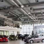 HONDA автосалон для «ARIA Motors»