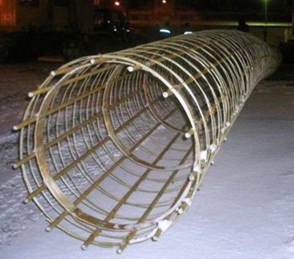 Арматура композитна застосовується для виготовлення різноманітних бетонних конструкцій